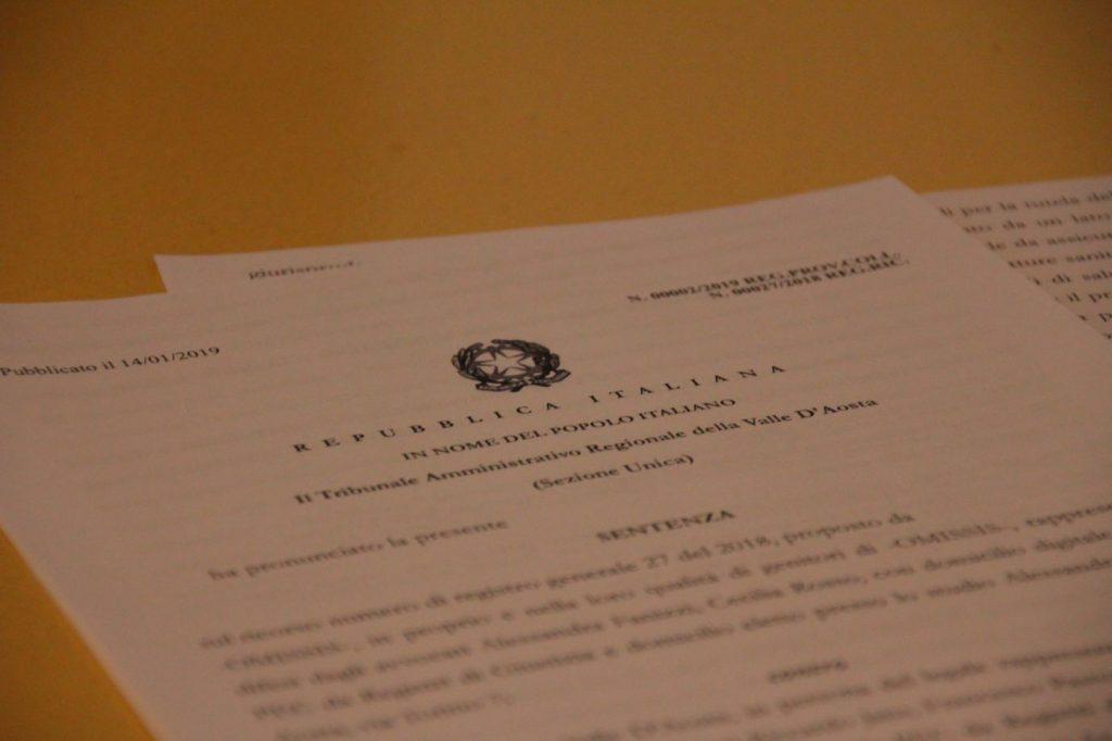 Sentenza TAR progetto individuale 328/2000