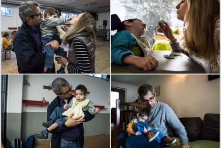 """Progetto fotografico sulle malattie rare """"Faire avec"""" di Stefano Scherma"""
