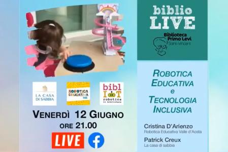 Robotica educativa e tecnologia inclusiva