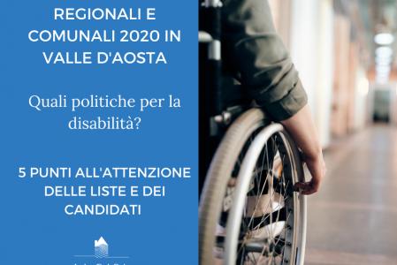 Elezioni regionali e comunali in Valle d'Aosta 2020 – quali politiche per la disabilità?